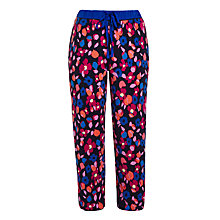 Buy DKNY Floral Print Pyjama Pants, Navy Online at johnlewis.com