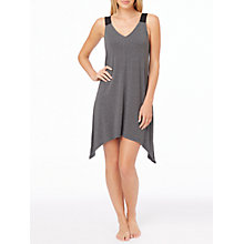 Buy DKNY Urban Essentials Chemise, Charcoal Online at johnlewis.com