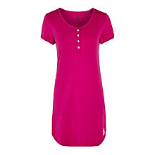 Buy DKNY Life is a Beach Jersey Nightdress, Pink Online at johnlewis.com