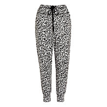 Buy DKNY Cropped Pants, Animal Print Online at johnlewis.com