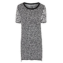 Buy DKNY Short Sleeve Nightdress, Animal Print Online at johnlewis.com