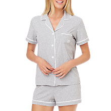 Buy DKNY Logo Shirt and Boxer Set, Grey Online at johnlewis.com