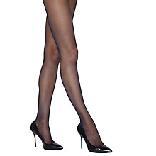 Buy Jonathan Aston Luminosity Tights, Navy Online at johnlewis.com