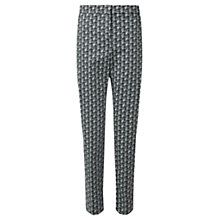 Buy Jigsaw Grid Check Skinny Trousers, Multi Online at johnlewis.com