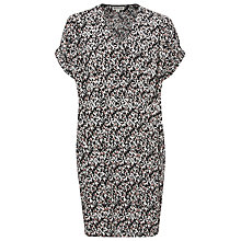 Buy Whistles Roxanne Eggshell Dress, Black Online at johnlewis.com