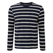 Buy John Lewis Twin Stripe Organic Cotton Long Sleeve Top Online at johnlewis.com