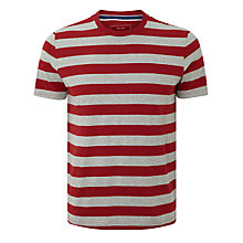 Buy John Lewis Organic Cotton Breton Stripe Crew Neck T-Shirt Online at johnlewis.com