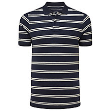 Buy John Lewis Double Stripe Organic Cotton Polo Shirt Online at johnlewis.com