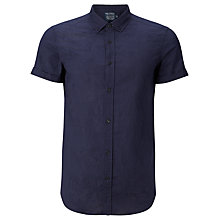 Buy JOHN LEWIS & Co. Japanese Leaf Jacquard Shirt Online at johnlewis.com