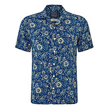 Buy JOHN LEWIS & Co. Japanese Vintage Floral Bowling Shirt, Ink Online at johnlewis.com