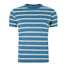 Buy John Lewis Organic Cotton Stripe T-Shirt Online at johnlewis.com
