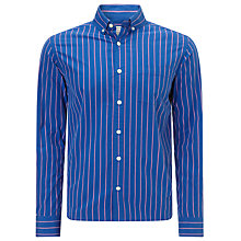 Buy John Lewis Peached Edge Stripe Shirt Online at johnlewis.com