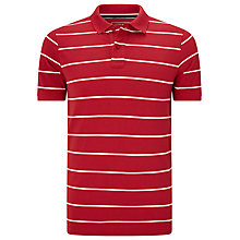 Buy John Lewis Wide Stripe Organic Cotton Polo Shirt Online at johnlewis.com