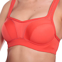 Buy Chantelle Underwired Sports Bra, Flame Red Online at johnlewis.com
