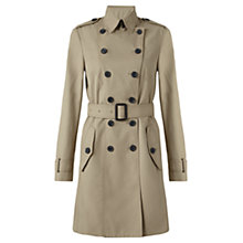 Buy Jigsaw Classic Trench Coat, Beige Online at johnlewis.com