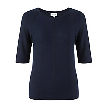 Buy Jigsaw Lurex Plated Jumper Online at johnlewis.com