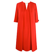 Buy Paisie Low V Back Dress, Red Online at johnlewis.com
