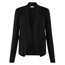 Buy Jigsaw Stretch Knit Blazer, Black Online at johnlewis.com