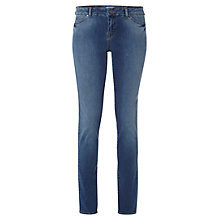 Buy White Stuff Abbi Lightweight Jeans, Mid Blue Online at johnlewis.com