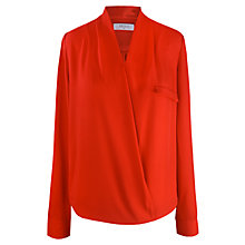 Buy Almari Wrap Top, Red Online at johnlewis.com