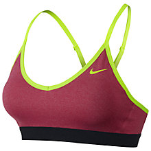 Buy Nike Pro Indy Compression Sports Bra Online at johnlewis.com