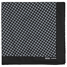 Buy Reiss Coelho Houndstooth Pocket Square Online at johnlewis.com