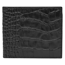 Buy Reiss Paul Textured Leather Fold Wallet Online at johnlewis.com