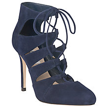 Buy L.K. Bennett Honor Suede Lace Up Court Shoes Online at johnlewis.com