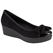 Buy John Lewis Clarissa Wedge Suede Pumps Online at johnlewis.com