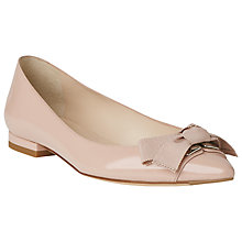 Buy L.K. Bennett Millye Flat Pointed Ballerina Pumps Online at johnlewis.com