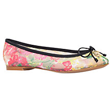 Buy Kurt Geiger Lourdes Ballerina Pumps, Multi Online at johnlewis.com