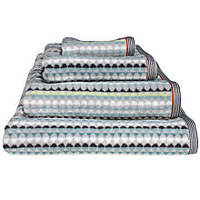 Buy Margo Selby for John Lewis Elham Towels, Blue Online at johnlewis.com