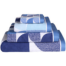 Buy Lindsey Lang Scallop Cotton Towels Online at johnlewis.com