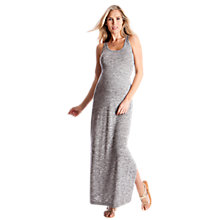 Buy Séraphine Magda Maxi Maternity Dress, Grey Online at johnlewis.com