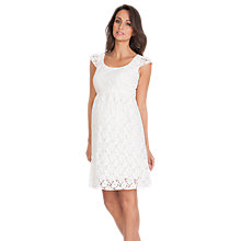 Buy Séraphine Sloane Lace Maternity Dress, White Online at johnlewis.com