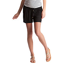 Buy Séraphine Saffia Maternity Shorts, Black Online at johnlewis.com