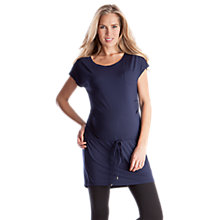 Buy Séraphine Suki Maternity Tunic, Navy Online at johnlewis.com