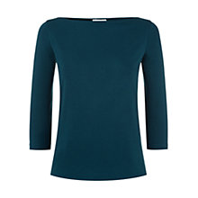 Buy Hobbs Sonya Top, Purple Online at johnlewis.com