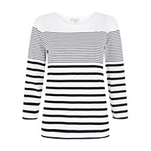 Buy Hobbs Hattie Cotton Top Online at johnlewis.com
