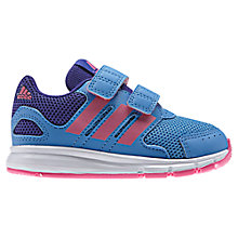 Buy Adidas LK Sports Trainers, Blue/Pink Online at johnlewis.com
