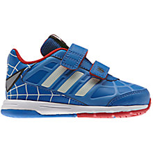 Buy Adidas Disney Spider-Man Trainers, Blue Online at johnlewis.com