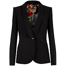 Buy Ted Baker Eglan Crepe Suit Jacket, Black Online at johnlewis.com