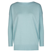 Buy Hobbs Dariella Jumper, Soft Mint Online at johnlewis.com