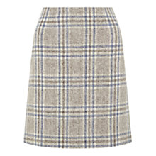 Buy Hobbs Lavana Skirt, Blue Grey Multi Online at johnlewis.com