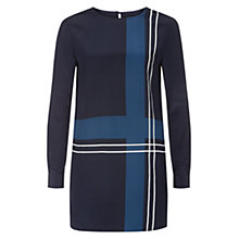 Buy Hobbs Estrella Tunic, Navy Multi Online at johnlewis.com