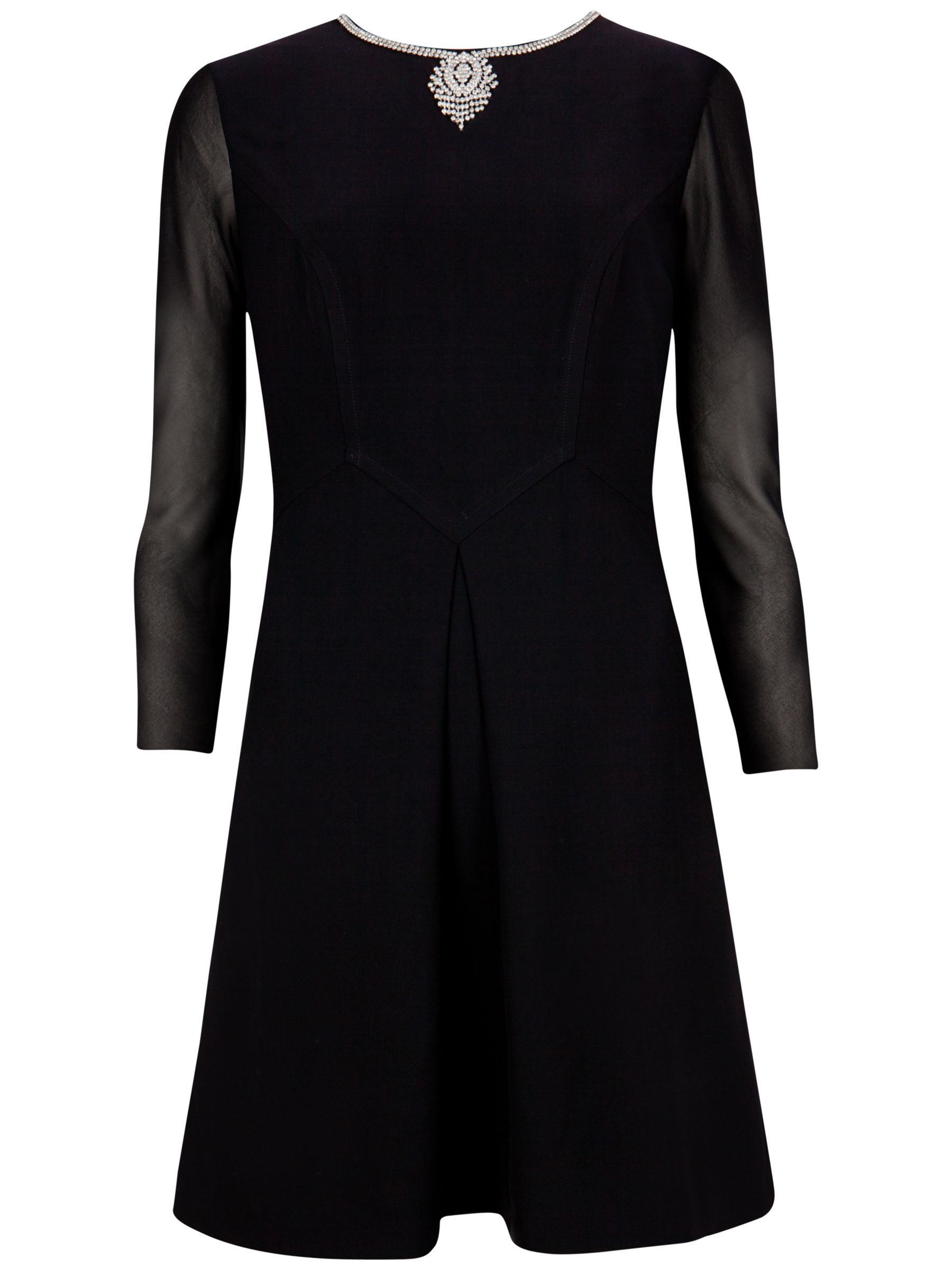 ted baker long sleeve necklace detail dress black, ted, baker, long, sleeve, necklace, detail, dress, black, ted baker, 1|3|4|2|0|5, women, womens dresses, special offers, womenswear offers, 30% off selected ted baker, party outfits, party dresses, fashion magazine, womenswear, men, brands l-z, 1797239