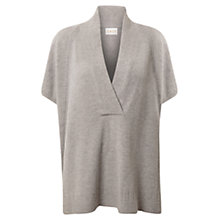 Buy East Oversized Wrap Jumper, Smoke Online at johnlewis.com