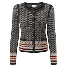 Buy East Fairisle Cardigan, Ash Online at johnlewis.com