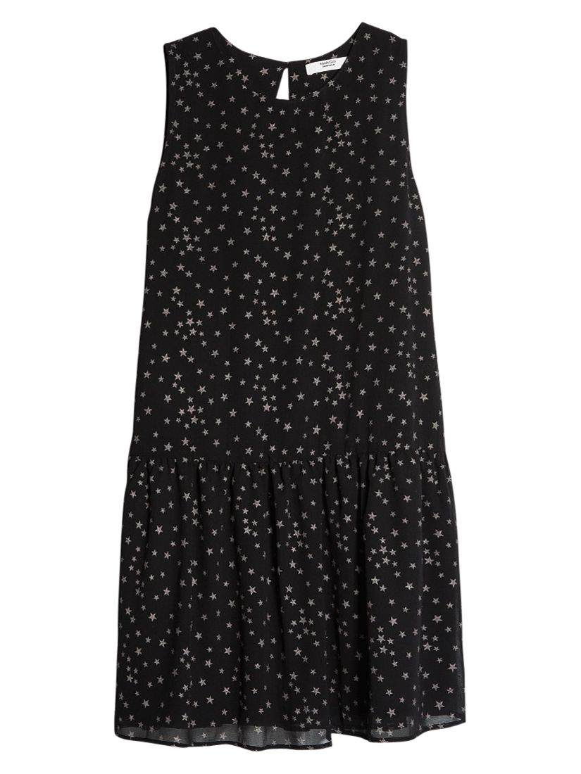 mango star print dress black, mango, star, print, dress, black, 6|14|10|8|12, women, womens dresses, 1795291