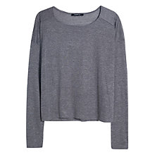 Buy Mango Long Sleeved T-Shirt Online at johnlewis.com